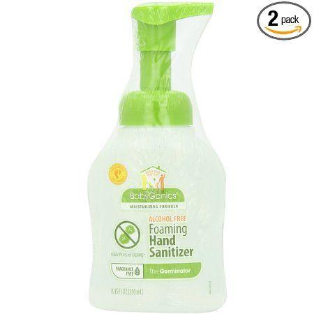 Babyganics Alchohol Free Foaming Hand Sanitizer Fragrance Free