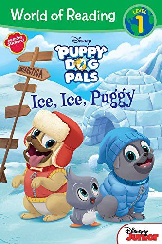 World Of Reading Puppy Dog Pals Ice, Ice, Puggy (level 1