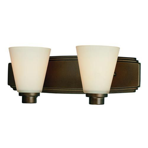 Photo of Dolan Designs Southport Heirloom Bronze Two Light Bath Light 3402 62 | Bellacor
