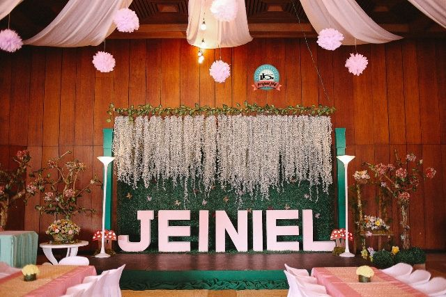 Debut Stage Backdrop Jeiniel's E...