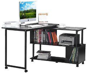 Robot Check Office Computer Desk Bookshelf Desk Furniture