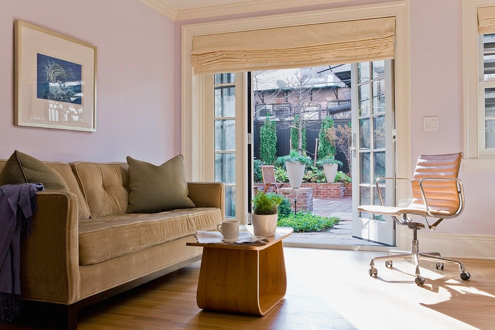 Amazing Ideas Of Roman Shades For Sliding Gl Doors With Brick Planters