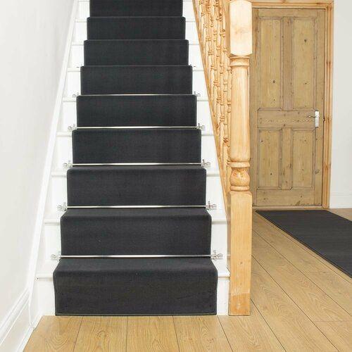 Teppich Alverton in Dunkelgrau Rosalind Wheeler Teppichgröße: Läufer 60 x 510 cm
