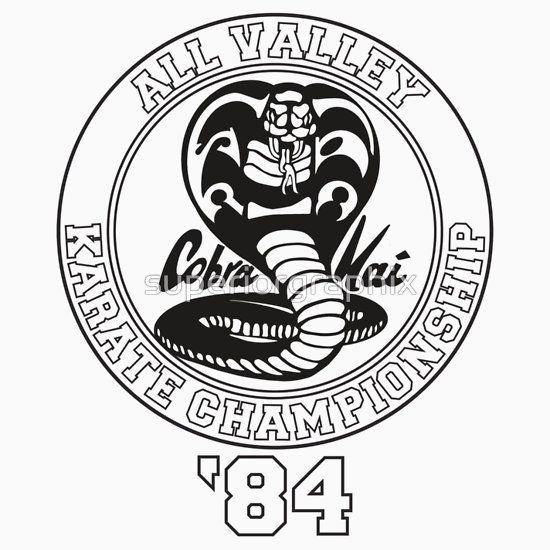 6b48e2587 Cobra Kai All Valley Karate Tournament | Slim Fit T-Shirt in 2019 ...