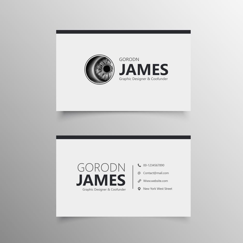 Simple Business Card Free Template Download Free Business Card