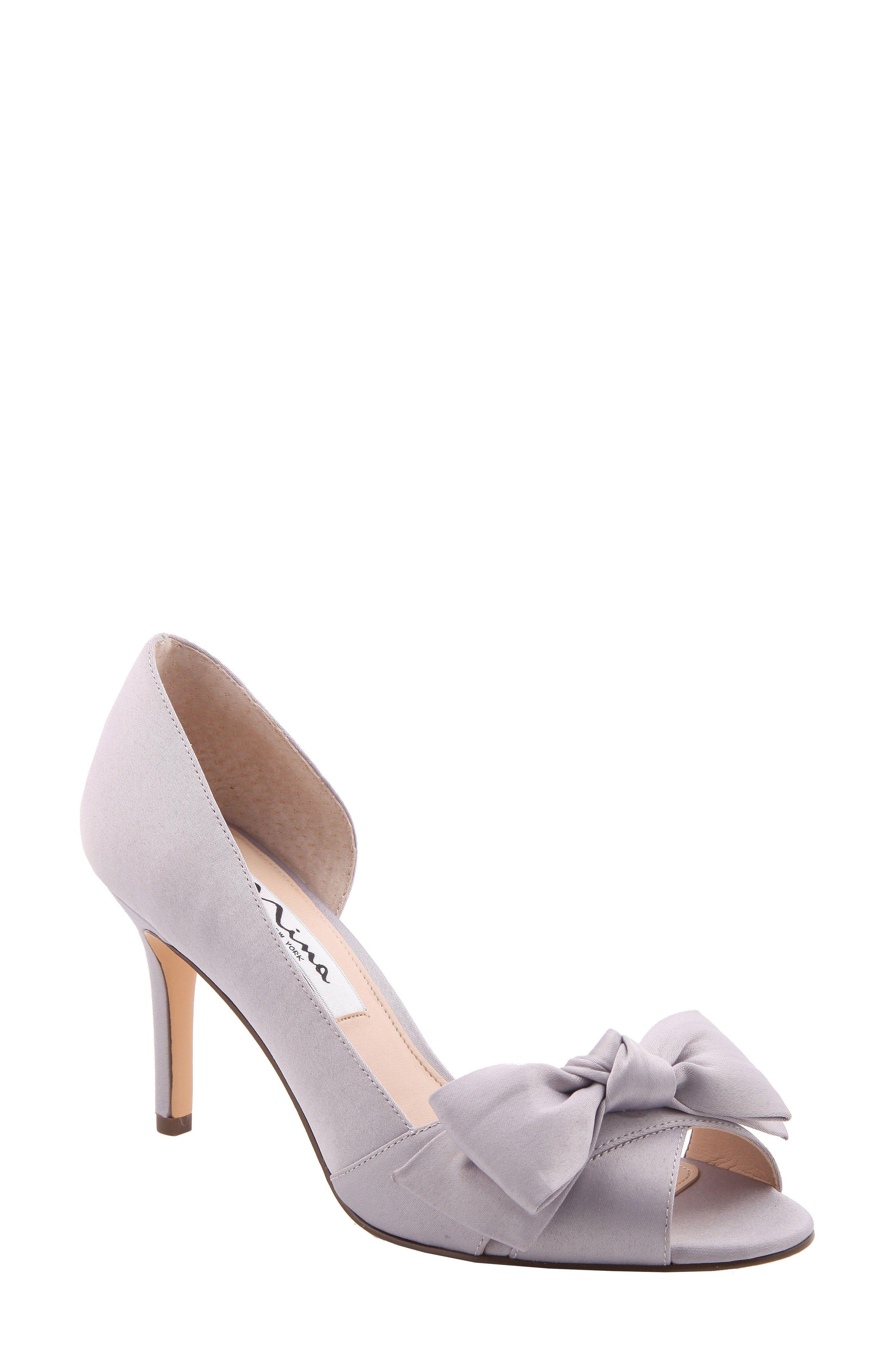 6a2a6560e331 New NINA Forbes II Peep Toe Pump online. New NINA Heels.   84.95 ...