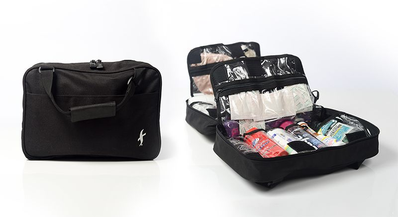 Freedom Bag Is The Award Winning Toiletry Organizer Originally Seen On Qvc Includes Ten Large