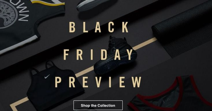 eb3e80b0c0d9 Nike Black Friday 2017 Ads Sales