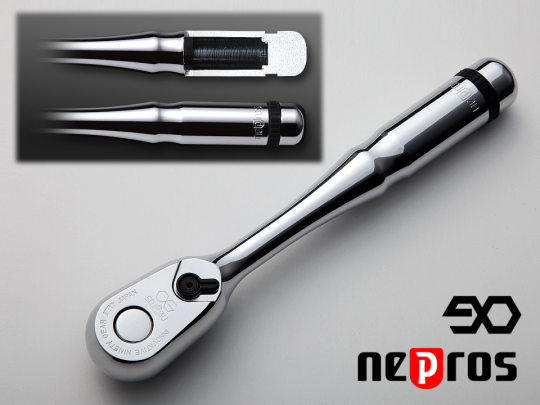 the grip of nepros ratchet handle