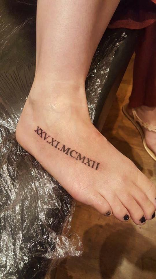 Roman Nails Drawingtattoo: 45 Unique Roman Numerals Tattoo That Speaks More Than Just