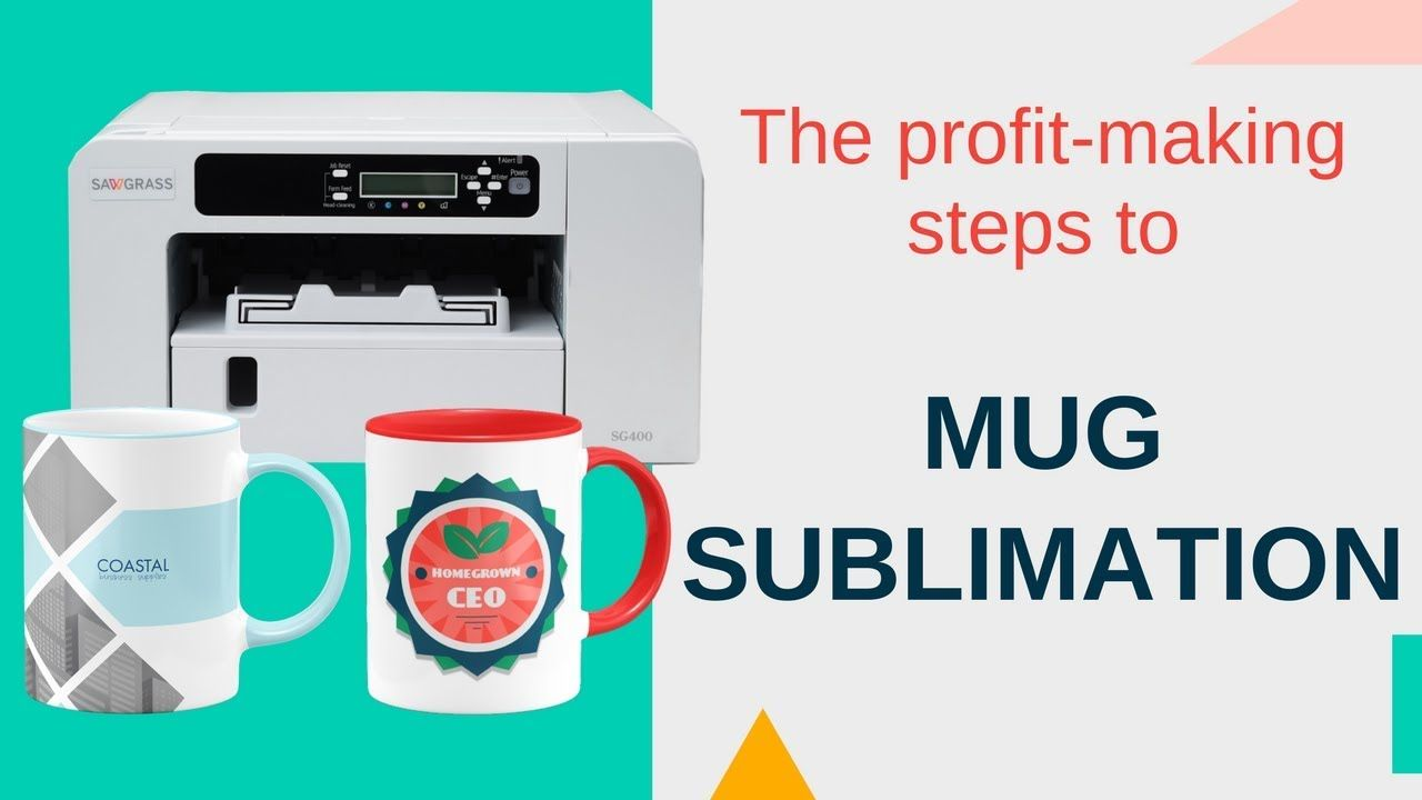 ProfitMaking Steps to Mug Sublimation Webinar Mugs