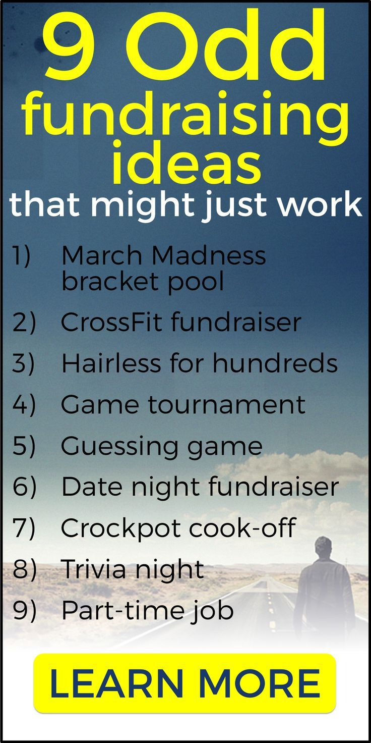 heres a list of 9 odd fundraising ideas that might just work guessing game