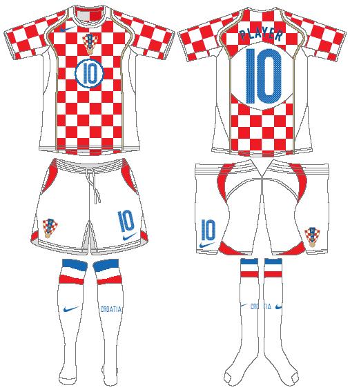 Croacia fútbol insignia con el logotipo de inspiración para Mujer camiseta euros aspecto desgastado