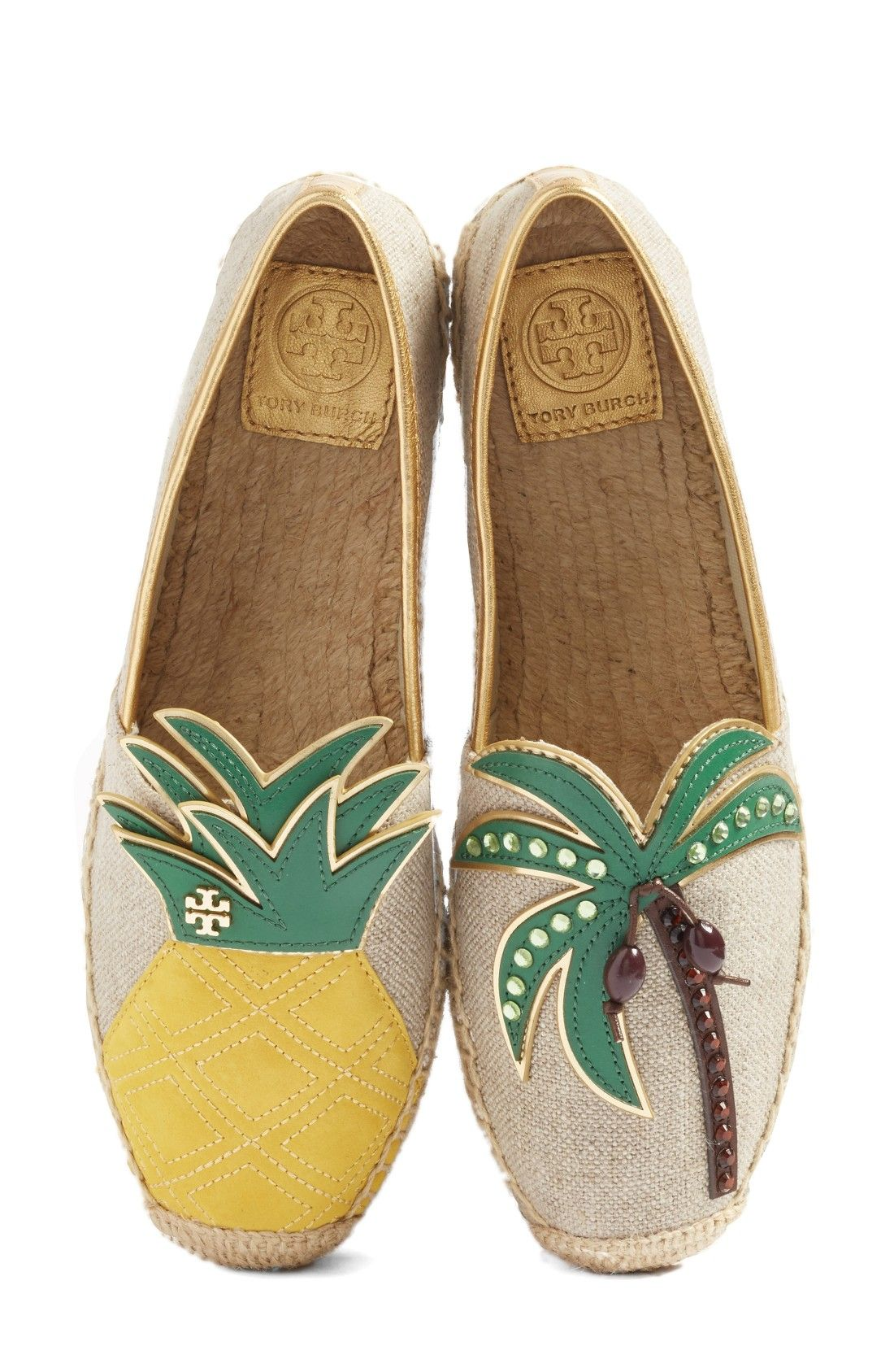 Free shipping and returns on Tory Burch Castaway Espadrille Slip-On (Women)  at