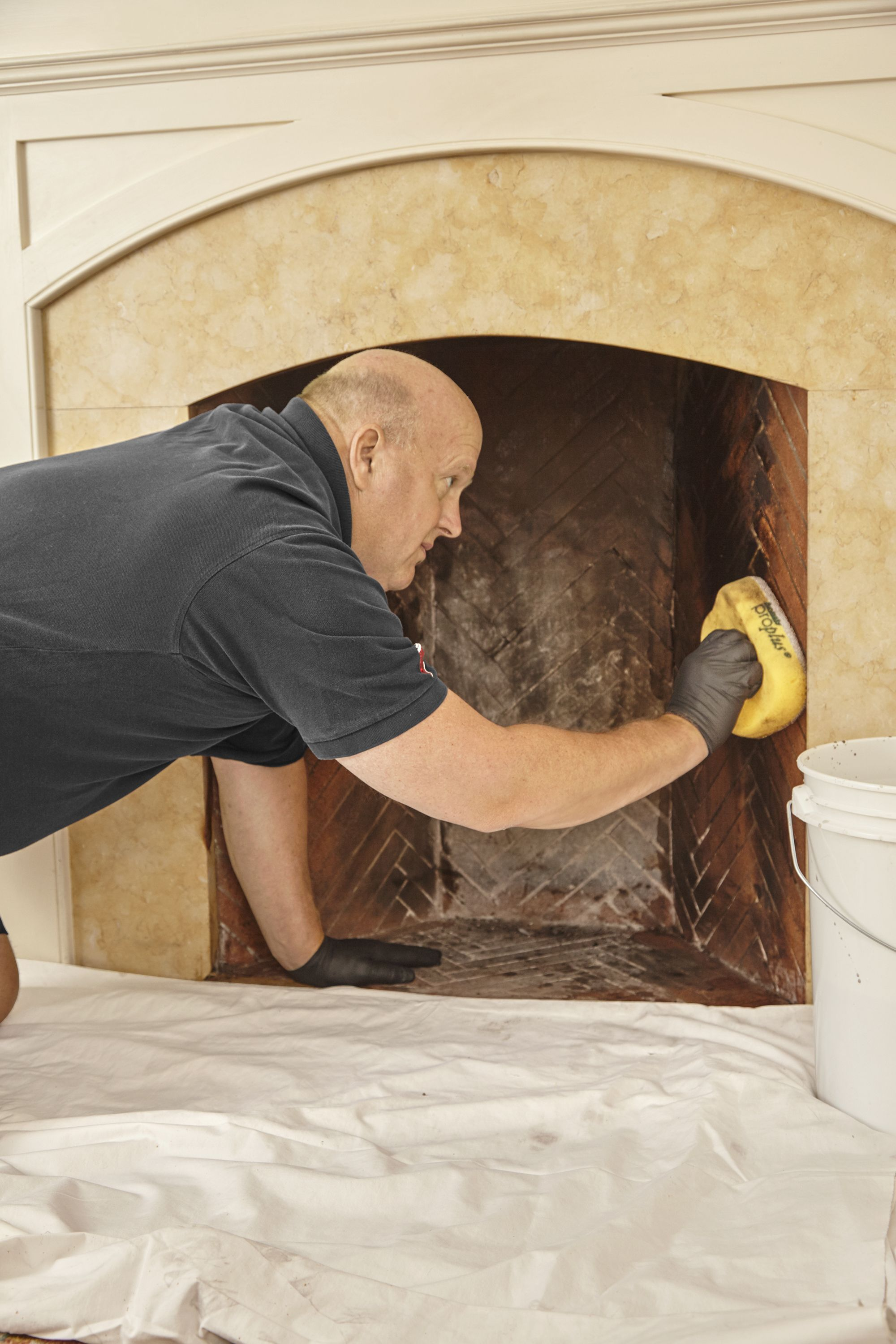 how to repair fire brick in a fireplace