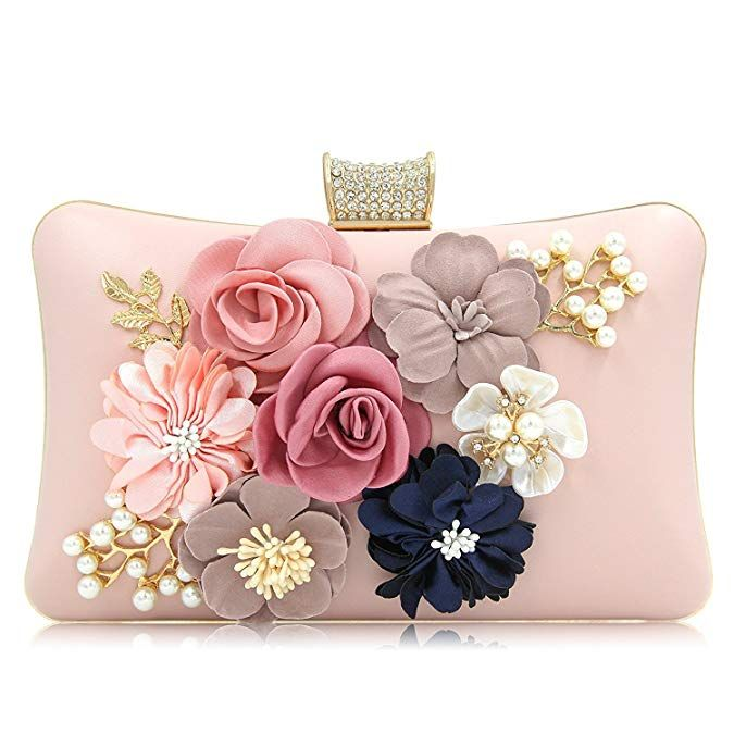 89bedbb2b120 PARADOX (LABEL) Women Flower Clutches Evening Handbags Wedding Clutch Purse