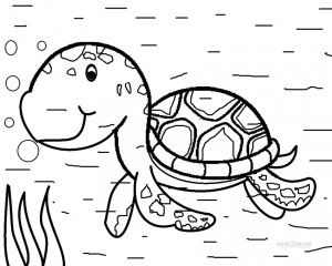 Sea Turtle Coloring Pages Animal Coloring Pages Ninja Turtle