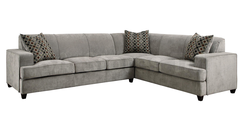 Furniture: Tess Modern Grey Sectional Sleeper Sofa | beach house ...