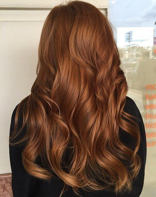 Pin By S On Beauty Hair Styles Copper Hair Color Amber Hair