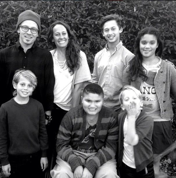 The mckeehans christmas photo. Ever notice how Toby's smile gets ...