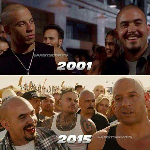 Dominic Toretto & Hector in 2001-2015   Fast and furious ...