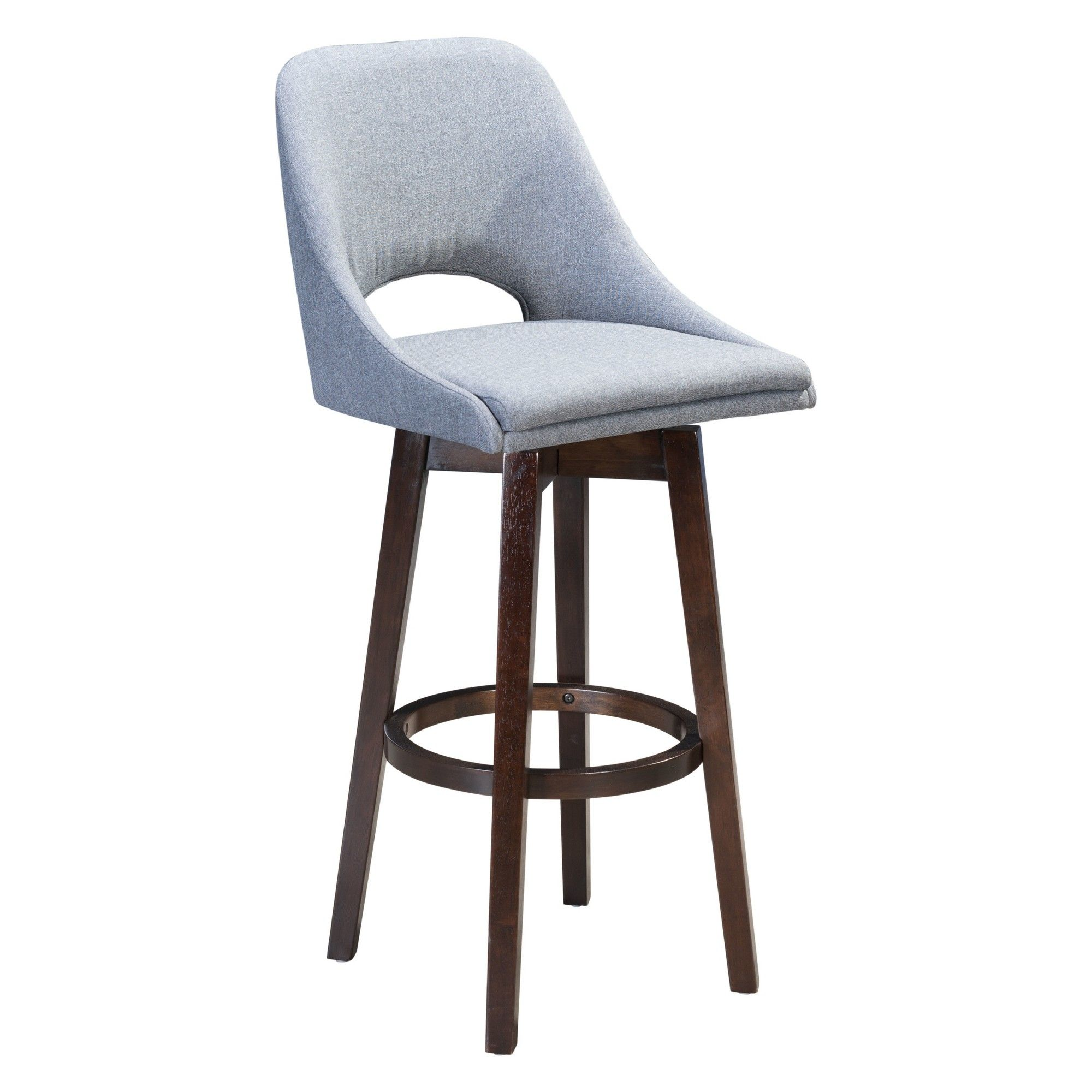 Tremendous 43 Modern Bar Chair Charcoal Gray Zm Home Upholstered Pdpeps Interior Chair Design Pdpepsorg