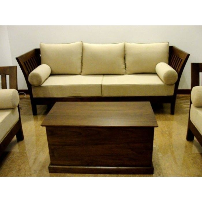 wooden couch Pesquisa Google decoraao Pinterest Wooden