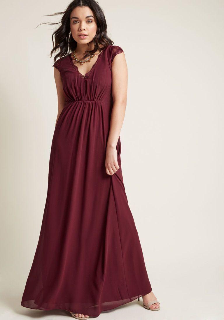 Maxi dress for wedding  Total Romance Maxi Dress in XL  Cap Aline  Maxi dresses Romance
