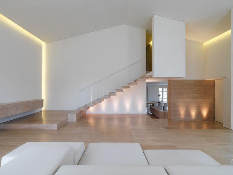 Escalier design intérieur de style minimaliste - inspirations de - escalier interieur de villa