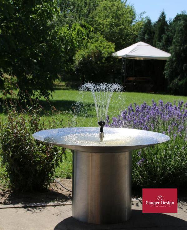 Http Www Designer Brunnen De Wasserschale Terrasse Edelstahl 2 Htm