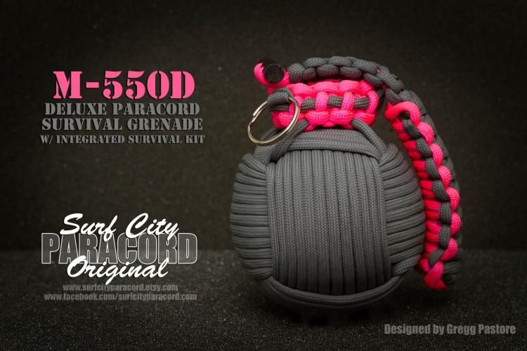 Paracord Survival Grenade That S Filled With Survival Tools