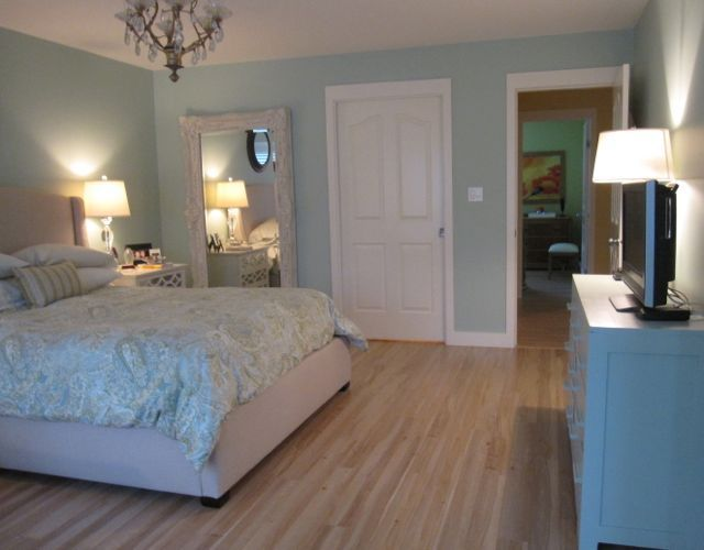 fabulous turquoise bedroom paint colors | How to Choose Carpet Colours: Before & After | Turquoise ...