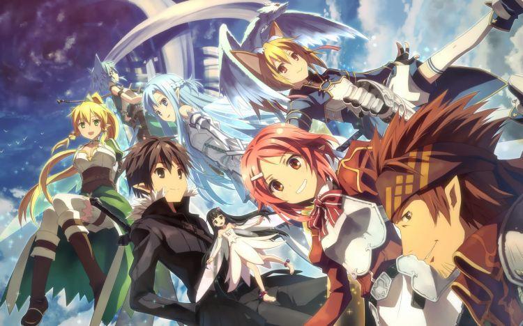 Fonds d'écran Manga > Fonds d'écran Sword Art Online Wallpaper N°369449 par bobysan - Hebus.com ...
