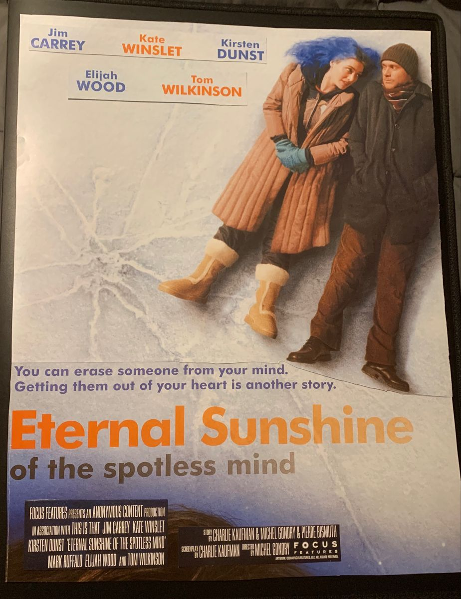 Eternal Sunshine Of The Spotless Mind 10 Word Review Eternal Sunshine Of The Spotless Mind Eternal Sunshine Jim Carrey
