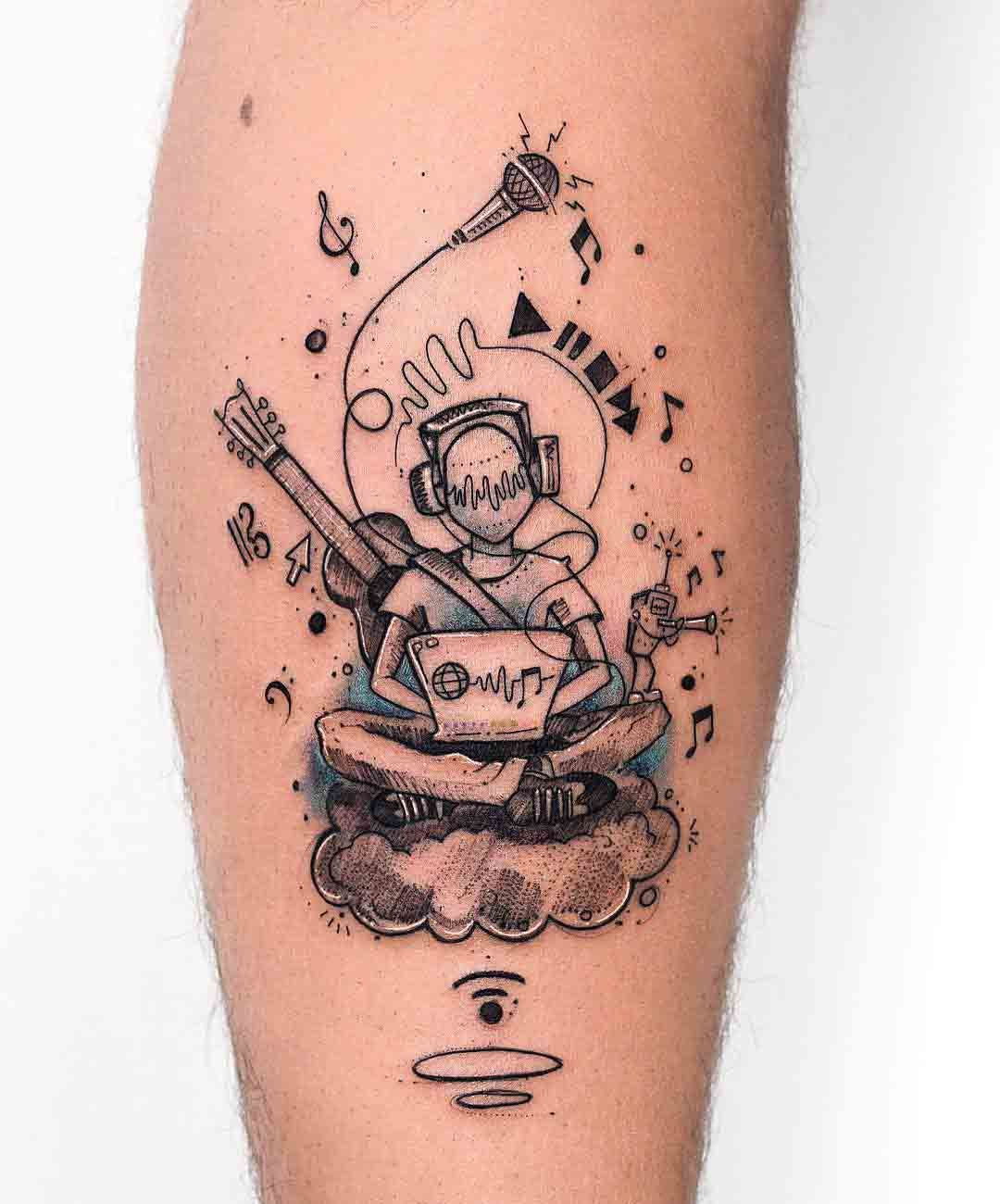 Photo of Music Lover Tattoo | Best Tattoo Ideas Gallery
