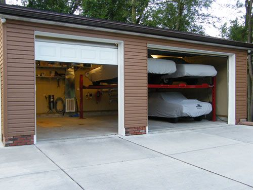 Garage With Lifts To Hold My Cars With Images Luxury
