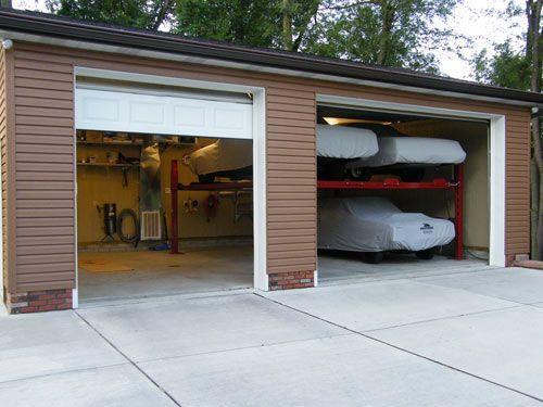 Garage With Lifts To Hold My Cars Luxury Garage Garage Design