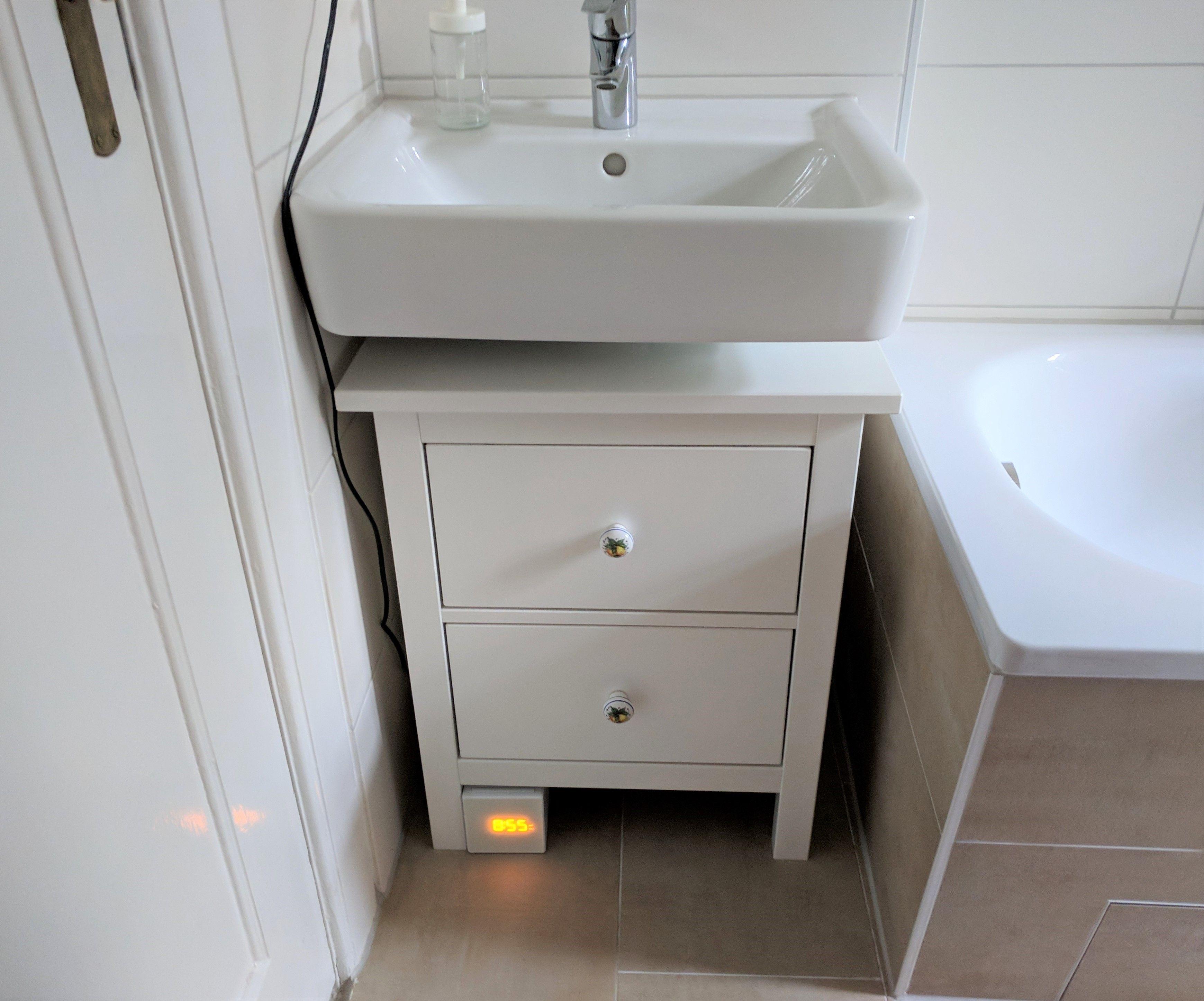 Ikea Hack Aus Einer Hemnes Kommode Wird Ein Badezimmerschrankchen