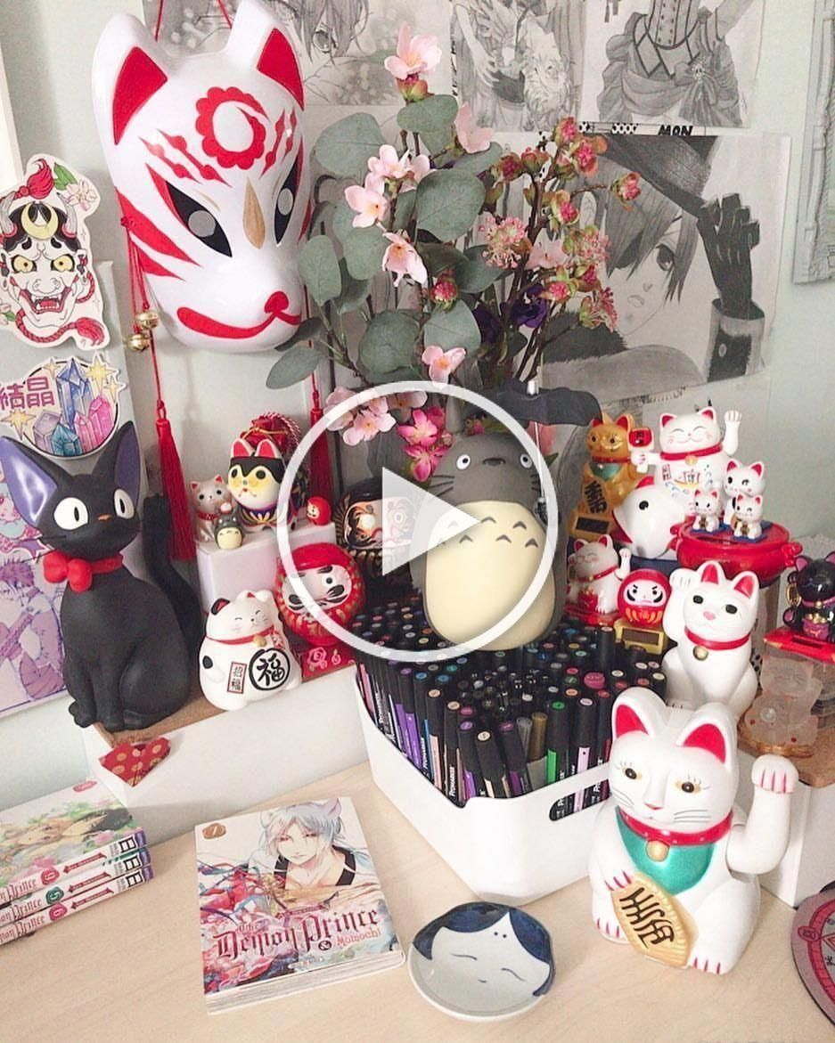 Japanesehomedecorcute Anime In 2019 Kawaii Bedroom Otaku Room Anime Bedroom Japanesehomedecorcute Kaw In 2020 Diy Room Decor Room Decor Bedroom Diy Bedroom Decor