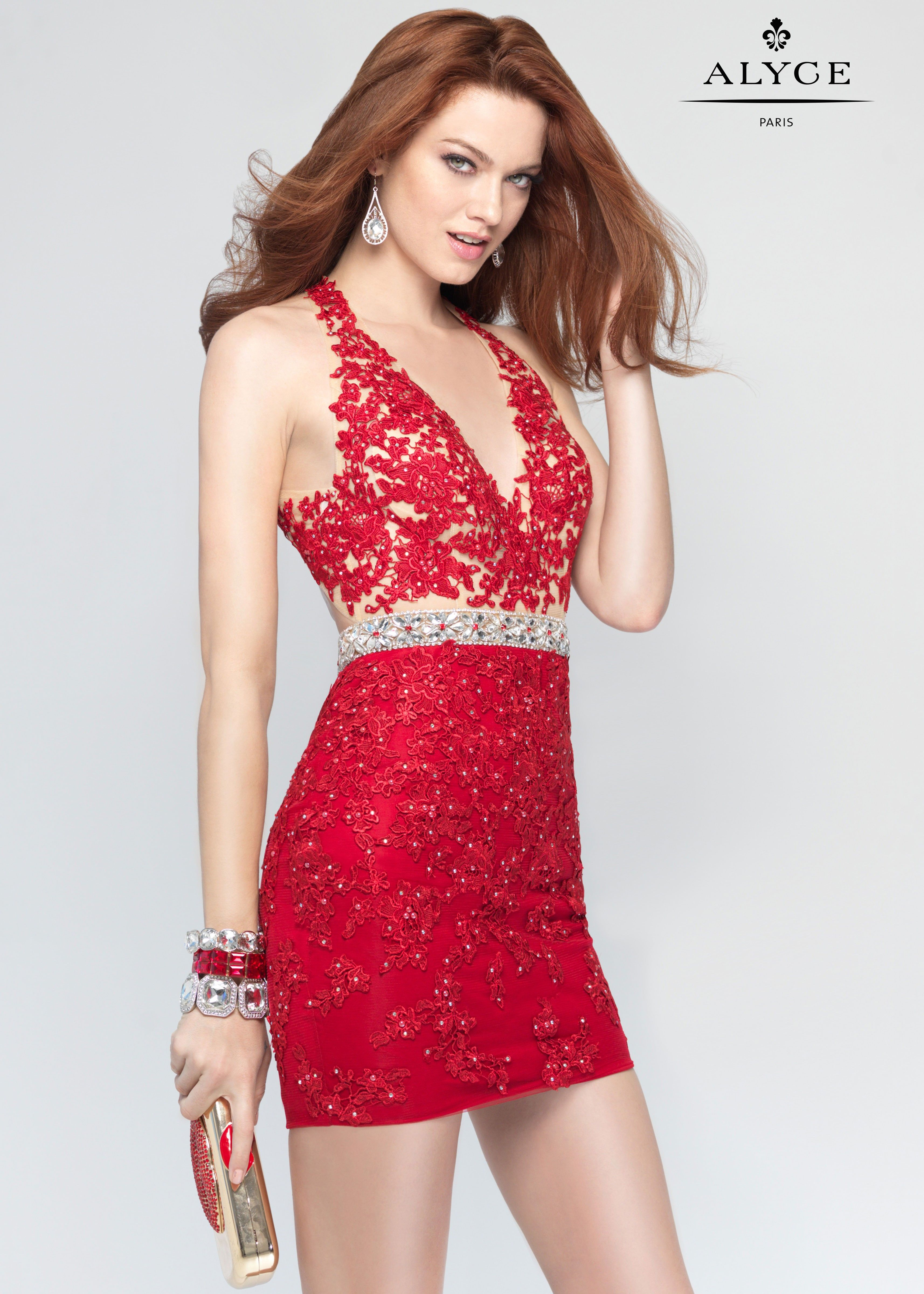 Alyce dazzling sequins cocktail dress pinterest short