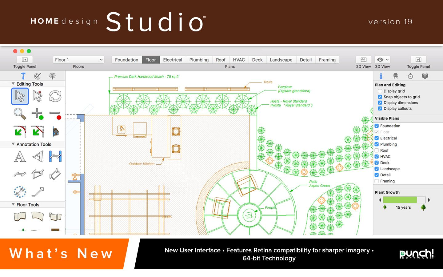 Punch! Home Design Studio for Mac v19 [Download] | Software ...