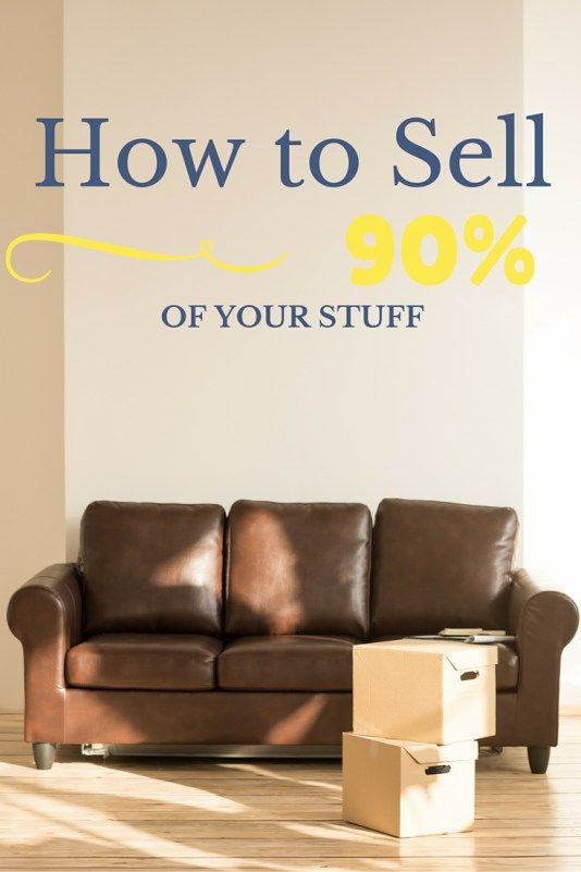 How to sell 90 of your stuff our streamlined life for Minimalist living with less stuff
