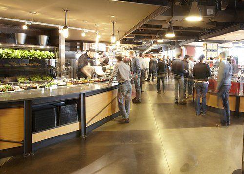 Amazon Com Seattle Office Kitchenette Office Interiors Cafeteria