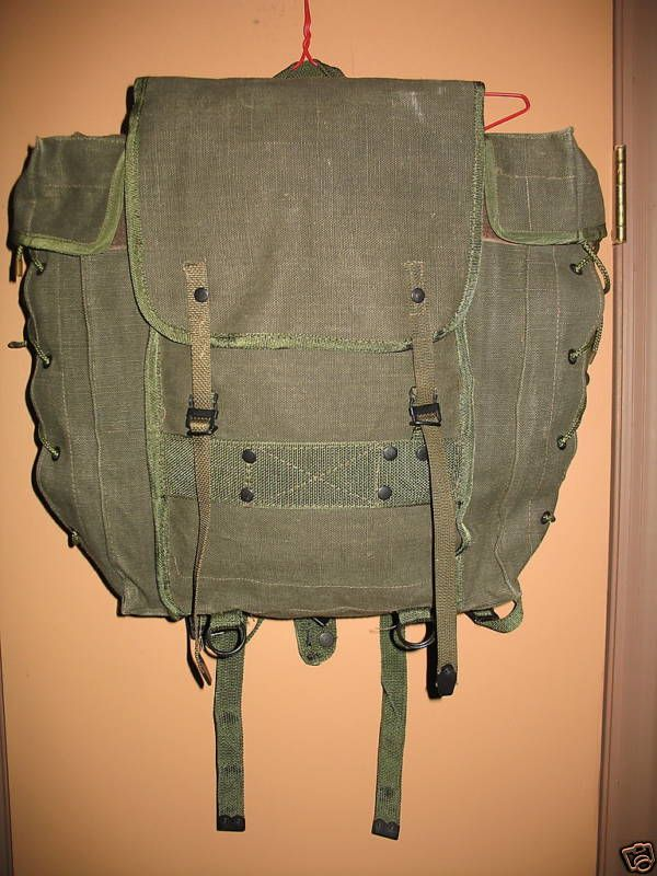 Details about Italian Army Alpine Mountain Backpack
