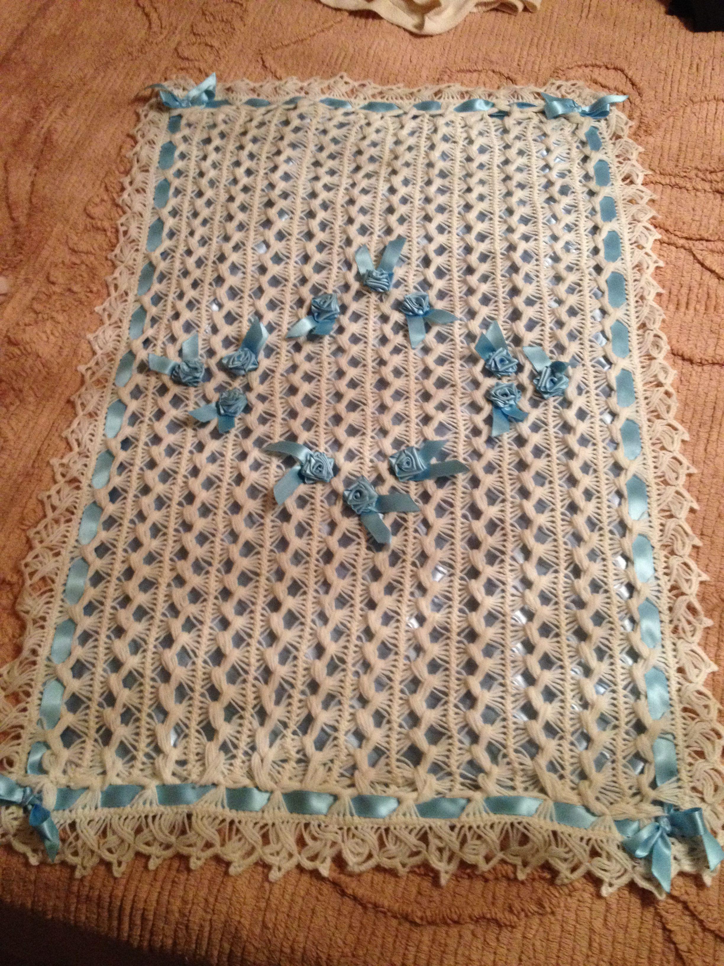 Copertina Lavorata A Forcella Copertina Lavorata A Mano Crochet