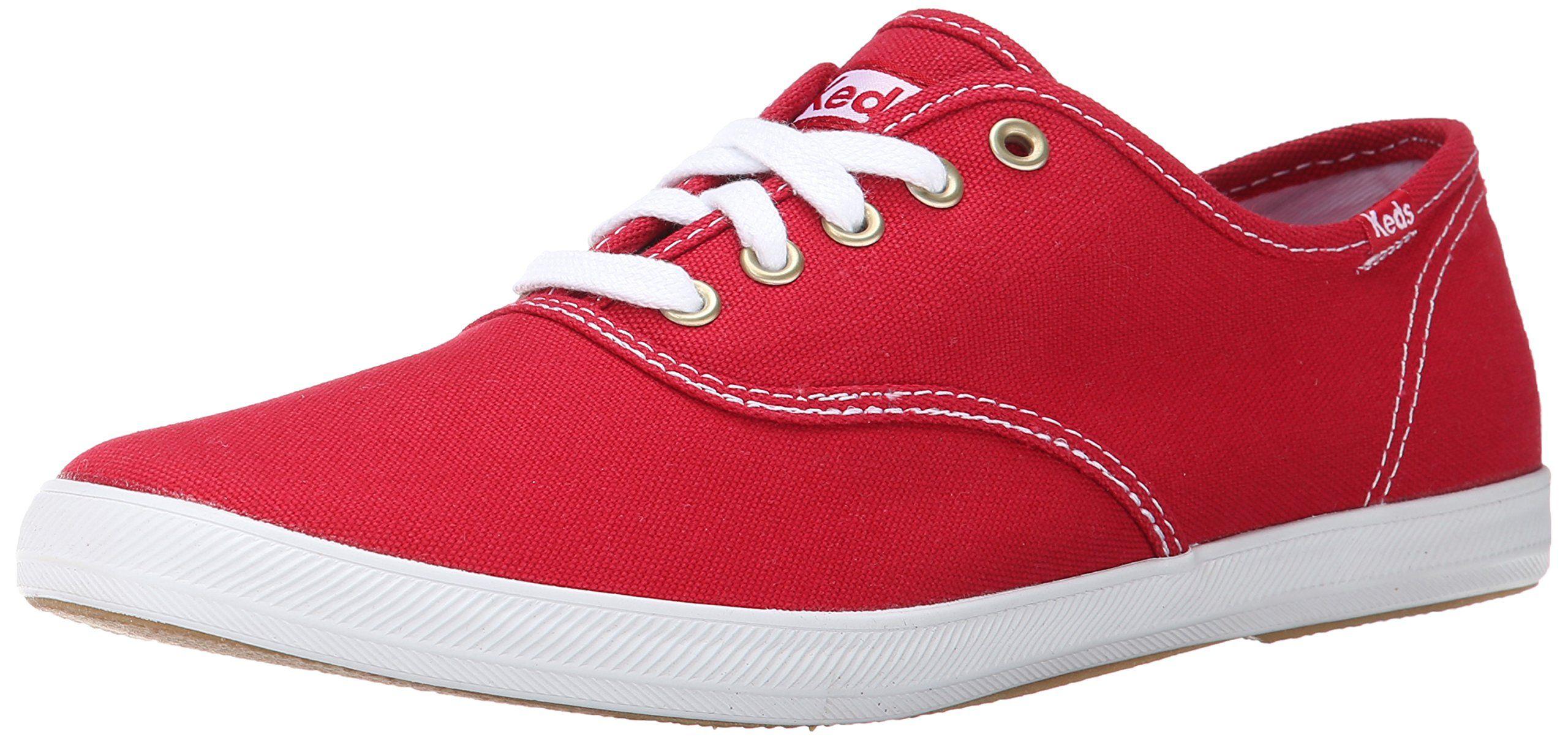 Keds Men's Champion Original Canvas Sneaker,Red,8 M US