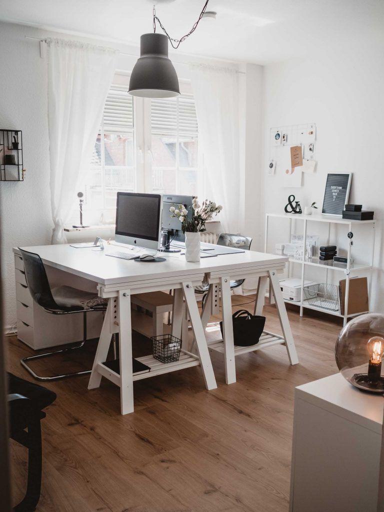 Home Office Einrichten So Wird S Gemutlich Im Arbeitszimmer Home Office Einrichten Hausburo Schreibtische Innen Buro