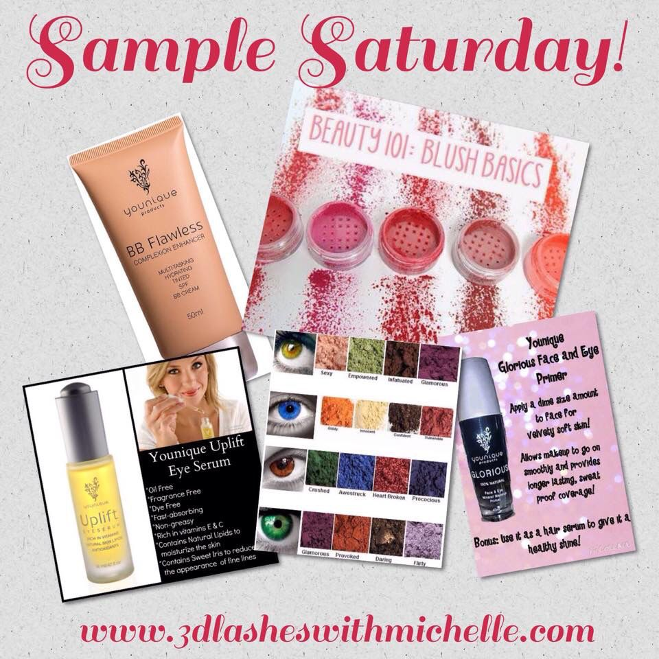 It's Sample Saturday!!  Are there any products you've been wanting to try before you buy??  Let me know!