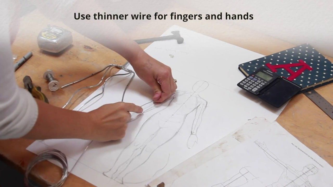 How to make an anatomically correct armature for a scale model ...