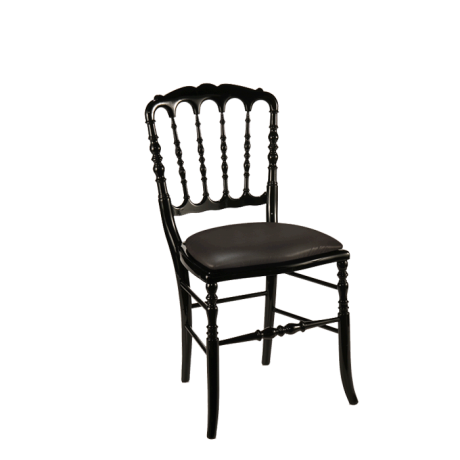 Chaise Napoleon Iii Noire Fixe Toscane Acier Disponible Dans De Nombreux Coloris Notre Chaise Napoleon Iii Noire Rencontrera Beauco Chaise Table Baroque Noir